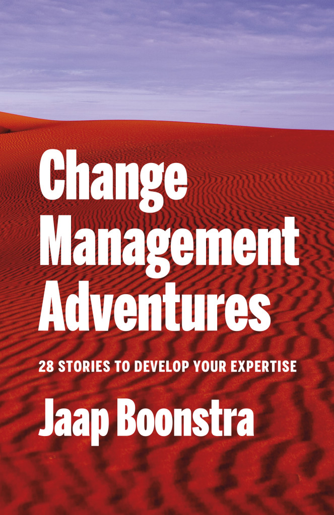 Voorplat Change Management Adventures