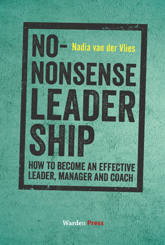 Cover boek No-nonsense leadership